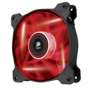 140mm Corsair AF140 Quiet Edition RED