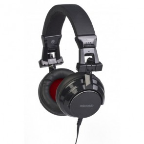 Microlab K380 3.5mm on-ears Cup Headset Black
