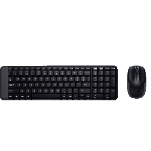 Logitech Wireless Desktop MK220 - KB + MS