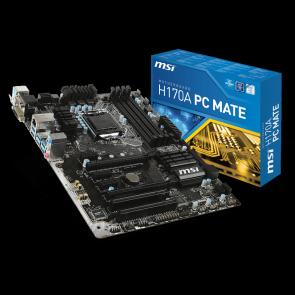 MSI Intel H170A PC Mate